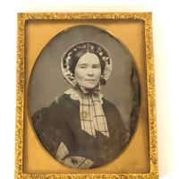 New England Daguerreotype Sixth Plate Woman with Bonnet 1.jpg