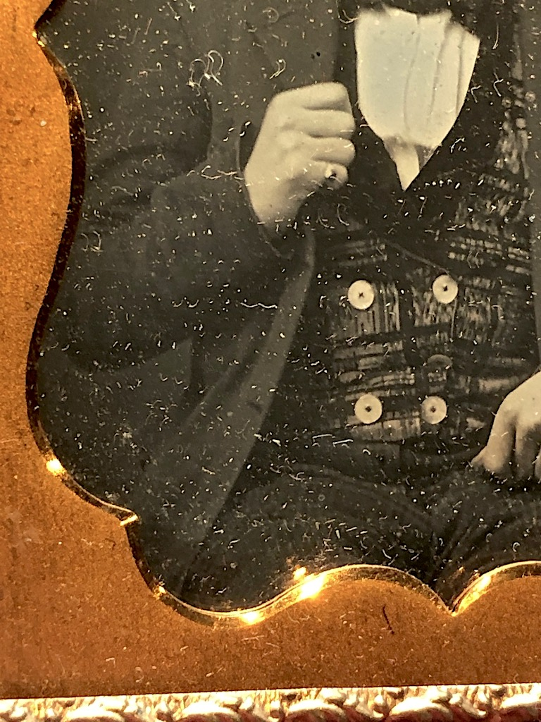 Daguerreotype of Young Dandy Posed with Style Ninth Plte Size Case Image 11.jpg