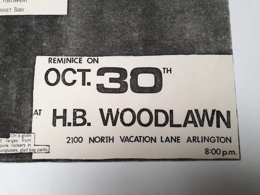 Minor Threat and DOA October 30th 1981at H.B. Woodlawn in Arlington VA Punk Flyer 2.jpg