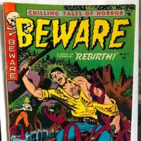 Beware No 13 (Actually #1 but cover says #13) January 1953 Published by Trojan Merit Magazines 1.jpg