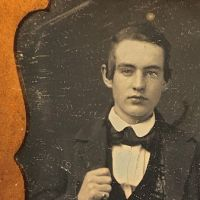 Daguerreotype of Young Dandy Posed with Style Ninth Plte Size Case Image 12.jpg