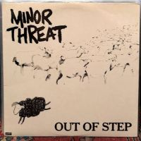Minor Threat Out of Step on Dischord Records no 10 45 RPM  Black Back Cover 1st Pressing 8.jpg